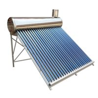 Evacuated tube solar water heater hot water heating system solar geyser