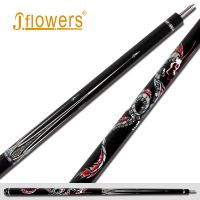 JF1K8-10 & JFlowers Dragon King &2019 JF custom pool cue