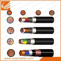 0.6/1KV VV23-Copper Conductor PVC Insulated Steel Tape Armoured PE Sheathed Power Cable