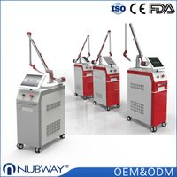 Q switched nd yag laser tattoo removal machine Professional Nd Yag Laser Scar Removal Equipment