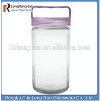 LongRun 8.5'' high big size nut glass iol jar glass box manufacturer