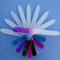 customized nail file, colorful glass nail file