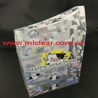 cosmetic packaging PVC clear box PET plastic box PP blister box