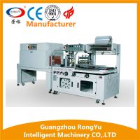 Fully-Automatic L Type Sealer Heat Tunnel Pallet Shrink Wrapping Machine