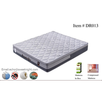 2017euro-top hotel mattress with memory foam and innerspring, compressed and roll up in box thumbnail image