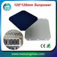 sunpower high efficiency solar cell