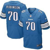 N F L Lions #70 ROBINSON jerseys