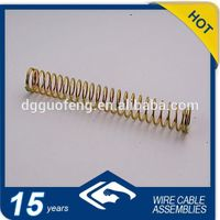 China Factory Original Flexible Metal sSprcompression Steel Spring Plastic Rubber Springs