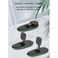 Amazon supplier 3 in 1 MagSafe 15W foldable Wireless Charger Stand for iphone apple watch AirPods