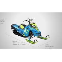Brand new 2017 Ski-doo snowmobile Freeride 146 thumbnail image
