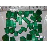 Rough emerald lot_2