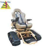 Rubber track undercarriage/rubber track for wheelchair thumbnail image