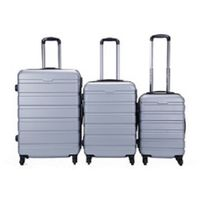 "ABS high quality colorful luggage set, 20"" 24"" 28"" suitcase set"
