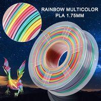 Eco Friendly China 3D Printer 3D Filaments Rainbow color thumbnail image
