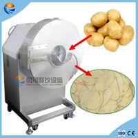 Large Type Automatic Potato Chips French Fries Cutting Machine