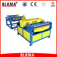 China duct manufacturer galvanized steel 0.5mm- 1.2mm hvac air duct making machine