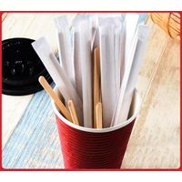 wooden coffee mix sticks coffee stir stick