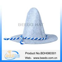 China wholesale polyester felt custom german oktoberfest hats thumbnail image