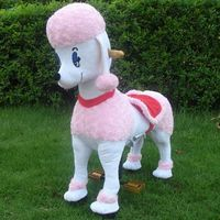 Poodle ride on toy, kids riding toys thumbnail image