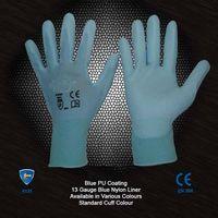 PU coated nylon glove Polyurethane glove
