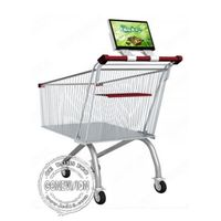 Supermarket Shopping Trolley Digital Signage Advertising Rechargeable Battery thumbnail image