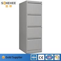 Modern office furniture steel storage cabinet 4 drawer metal file cabinet