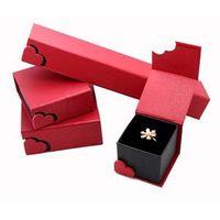 Custom Jewelry kraft paper box,paper gift box,cardboard box for earring,necklace,bracelet,watch thumbnail image