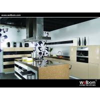 2015 Welbom Modern White Lacquer Kitchen Cabinet Designs