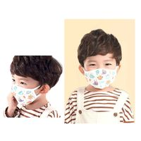 100% Pure Cotton Reusable Washable Fabric Cotton Mask for Child, Kid, Baby (Made in South Korea) thumbnail image