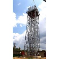 Elevated Water Storage Tank Tower/Steel Frame Water Tower/Hot Dipped Galvanized Steel Structure Towe