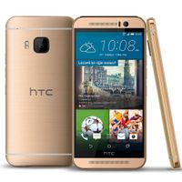 HTC One M9, Gold on Silver 32GB FREE SHIPPING PAYPAL