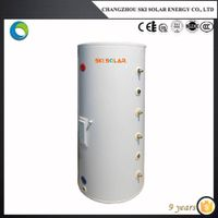 Enamel water tank;heat pump water heaters