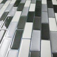 Polyurethane Coating 3D Gel Wall Tiles/ Panels
