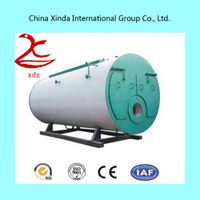 The introduce of Industrial natural gas fired steam boiler system