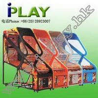 COIN OPERATED NBA BASKETBALL ELECTRONICAL CRAZY SHOOT MACHINE