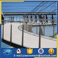 X-tend cable rope mesh for bridge protecting fence