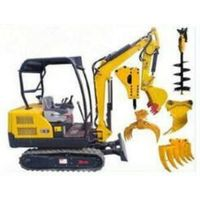 Mini-Scale Agriculture/Orchard/Landscaping Excavator