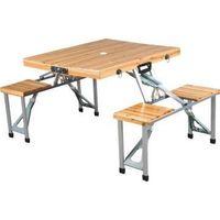 folding table chair set