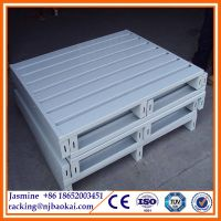 1210 Industrial 0.8T Galvanized Storage Steel Pallet