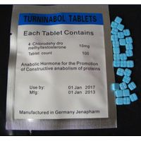 Turninabol 4-Chlorodehy dromethyl testosterone Tablets steroid HGH Human Growth Hormone Bodybuilding