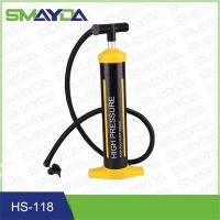 3L High Pressure Hand Air Pump Singe Action HS-118 for Air Tent, Boat