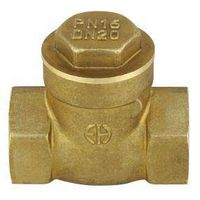Forged brass swing check valve thumbnail image