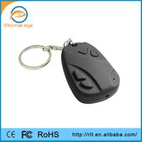 CMOS hd hidden video recorder 808 car keys micro camera support plus and play Built-in rechargable b