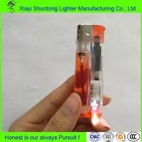 Hot Selling Long Working Wholesale Plastic LED Lighter