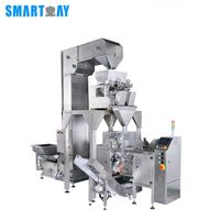 high speed electronic automatic cookie biscuit granule packing machine
