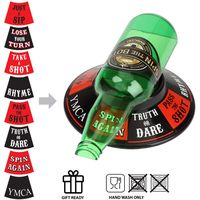 New Style Party and Adult Drinking Game Spin the Bottle Game thumbnail image