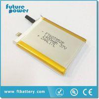 3.7V 1400mah FT603952 two way radio battery