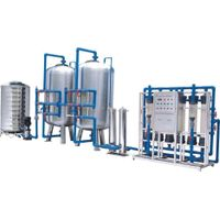 10000L/H Mineral Water Treatment / Ultrafiltration Water Purification Equipment thumbnail image