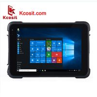 """K86 Rugged Windows 10 Waterproof Car Tablet PC Pro IP67 Shockproof 8"""" inch 1D 2D Barcode Scanner thumbnail image"""