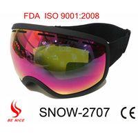 2013 Best seller fashion custom ski goggles, goggles ski with anti-fog uv protection thumbnail image